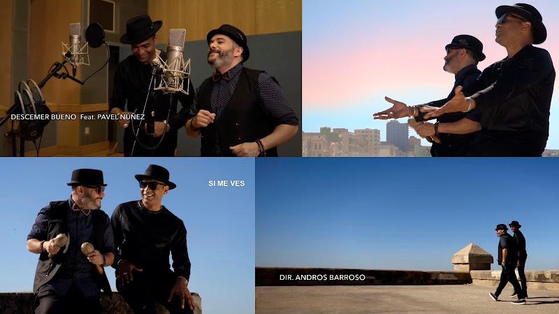 Descemer Bueno - Pavel Núñez - ¨Si me ves¨ - Videoclip - Dirección: Andros Barroso. Portal del Vídeo Clip Cubano