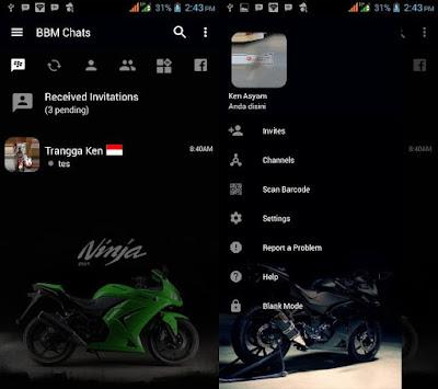 BBM Mod Ninja 250R v3.2.5.12 APK
