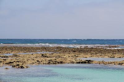 沖縄 ビーチフォト 干潮
