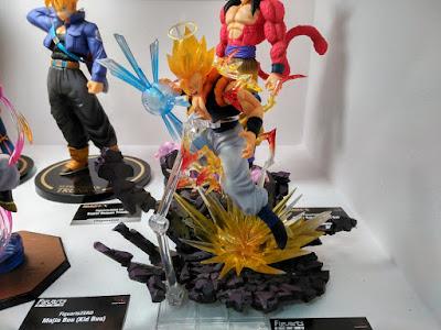Vegetto y Gogeta con sus nuevas Chou Gekisen Extra Battle.