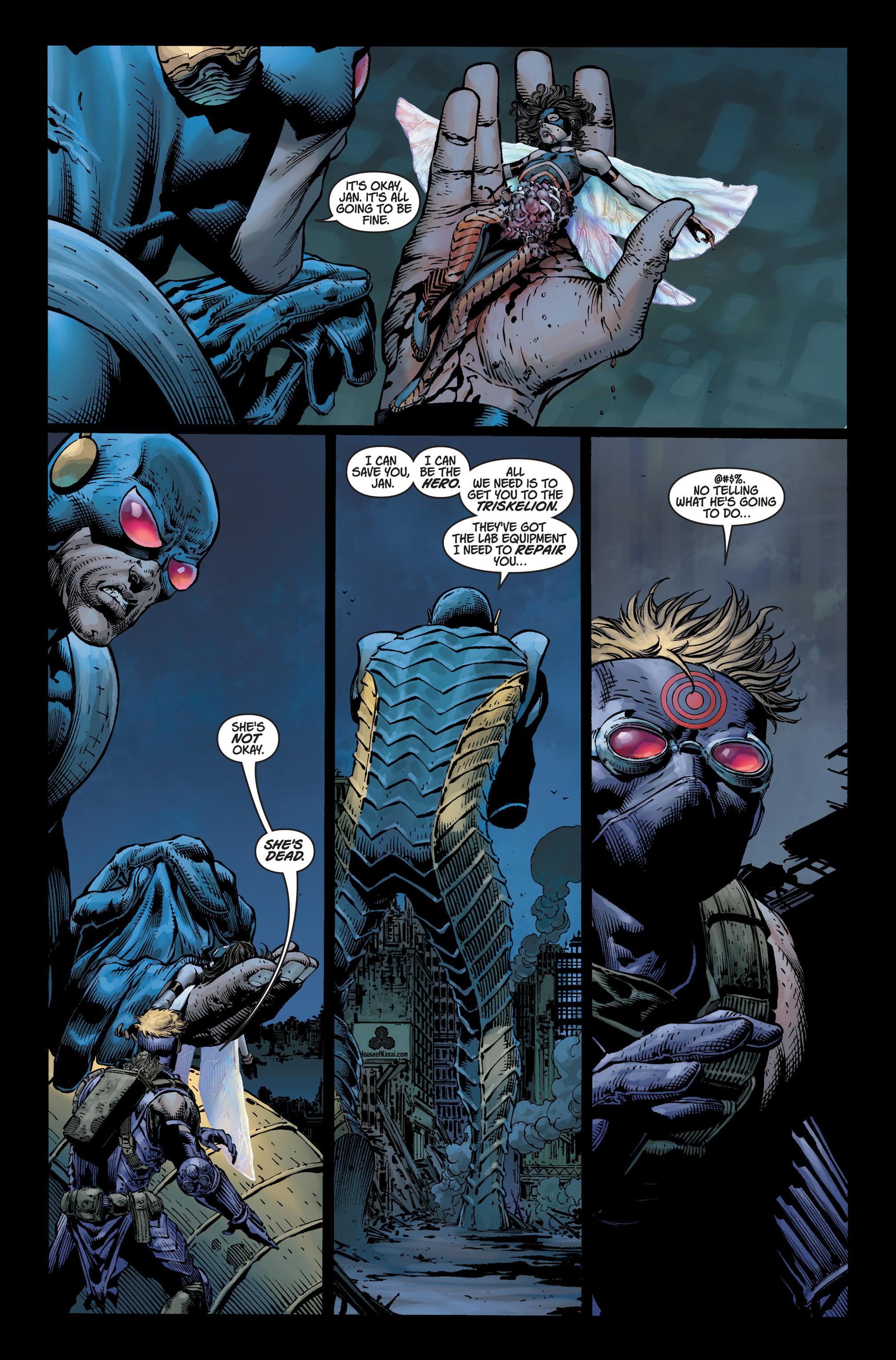 Read online Ultimatum comic -  Issue #3 - 8