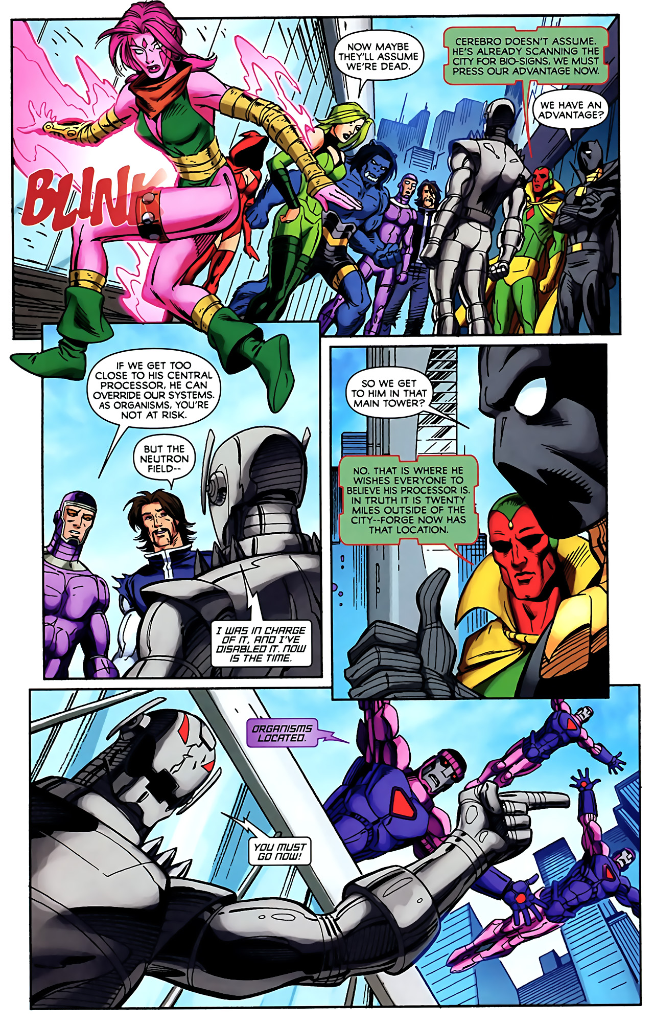 Read online Exiles (2009) comic -  Issue #5 - 13