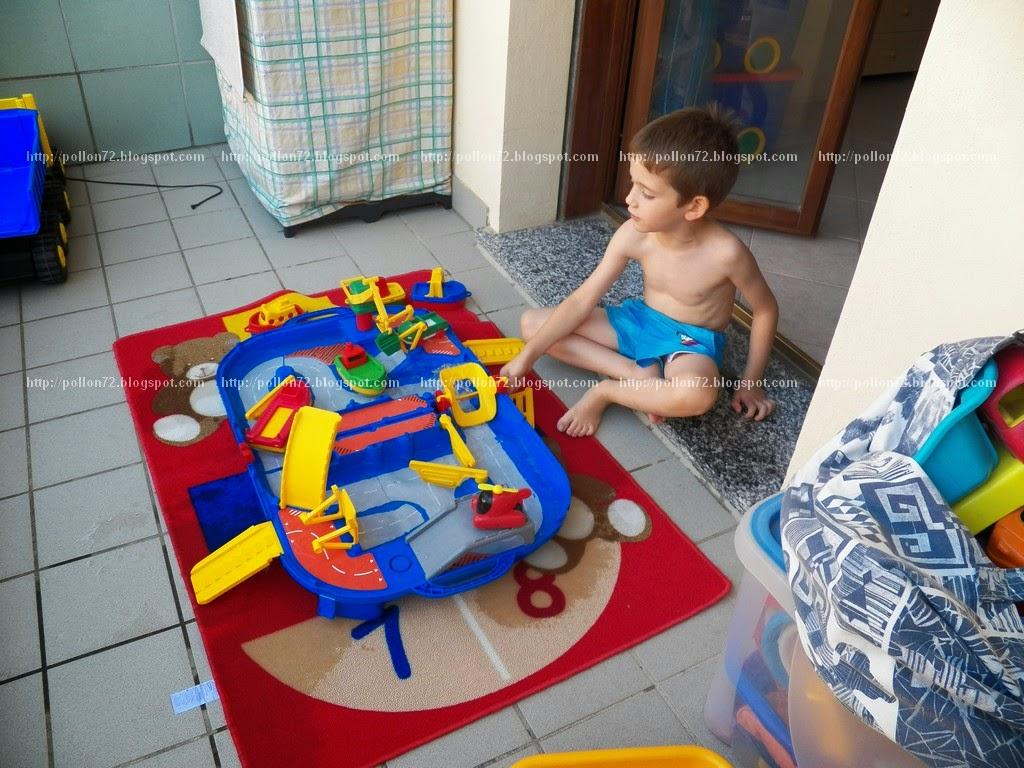Favoloso Mamma Claudia e le avventure del Topastro: Giochi con l'acqua sul  IB05