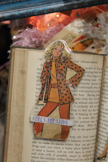 vintage style planner book mark