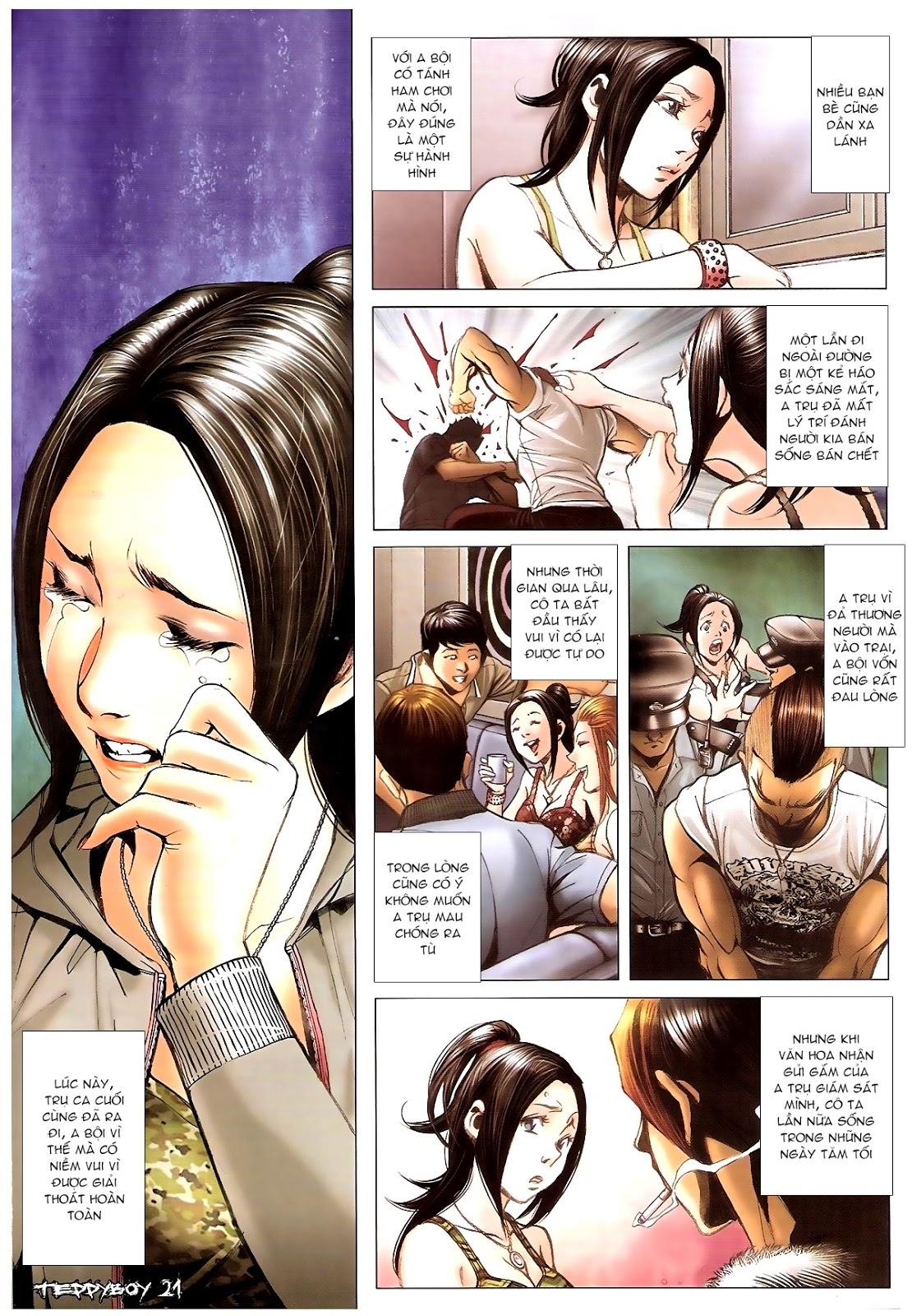 Người Trong Giang Hồ - Chapter 1382: Máu lệ nhạt nhòa - Pic 18