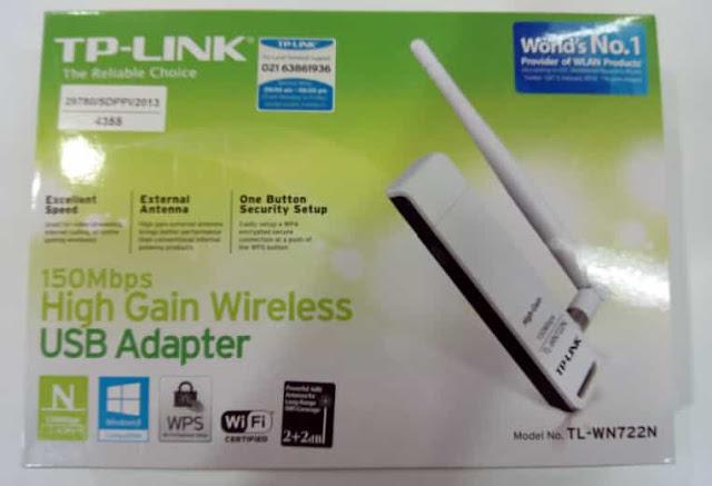 usb adapter terpopuler TPlink TL WN 722 N