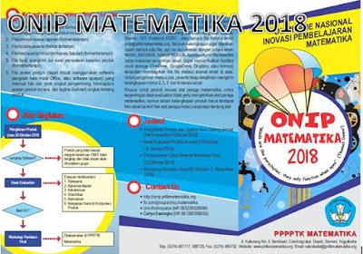 Juknis Lomba Guru ONIP Matematika SD, SMP, SMA, SMK Sederajat Tahun 2018 Semua Jenjang Sekolah