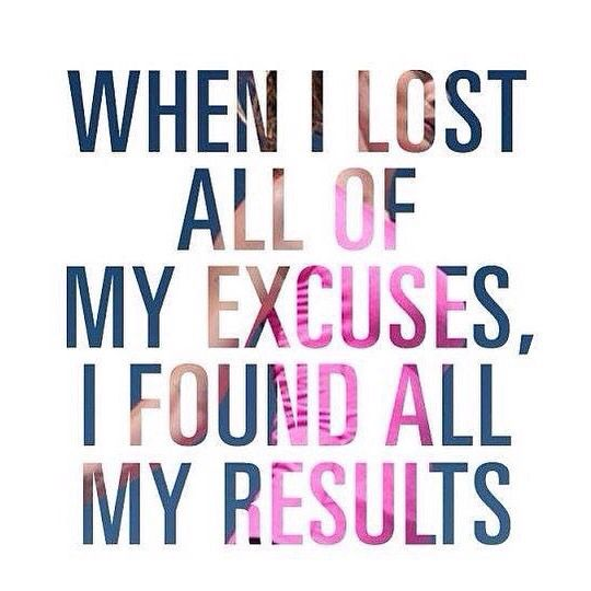 Inspirational Quotes Motivation: Life Light Up: When I Lost All Of My Excuses, I Found All