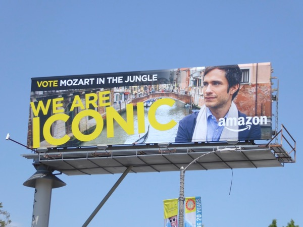 Mozart in the Jungle Iconic Emmy 2017 billboard