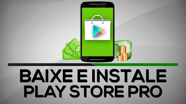 Resultado de imagem para play store pro
