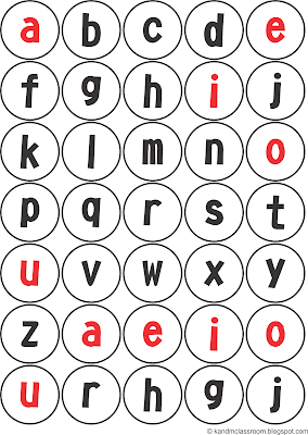 Alphabet Lower Case Printable Classroom Freebie