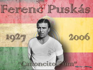 "Ferenc Puskás ""Cañoncito Púm"""