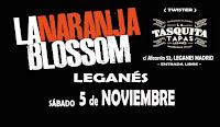 Concierto de La Naranja Blossom en Leganés