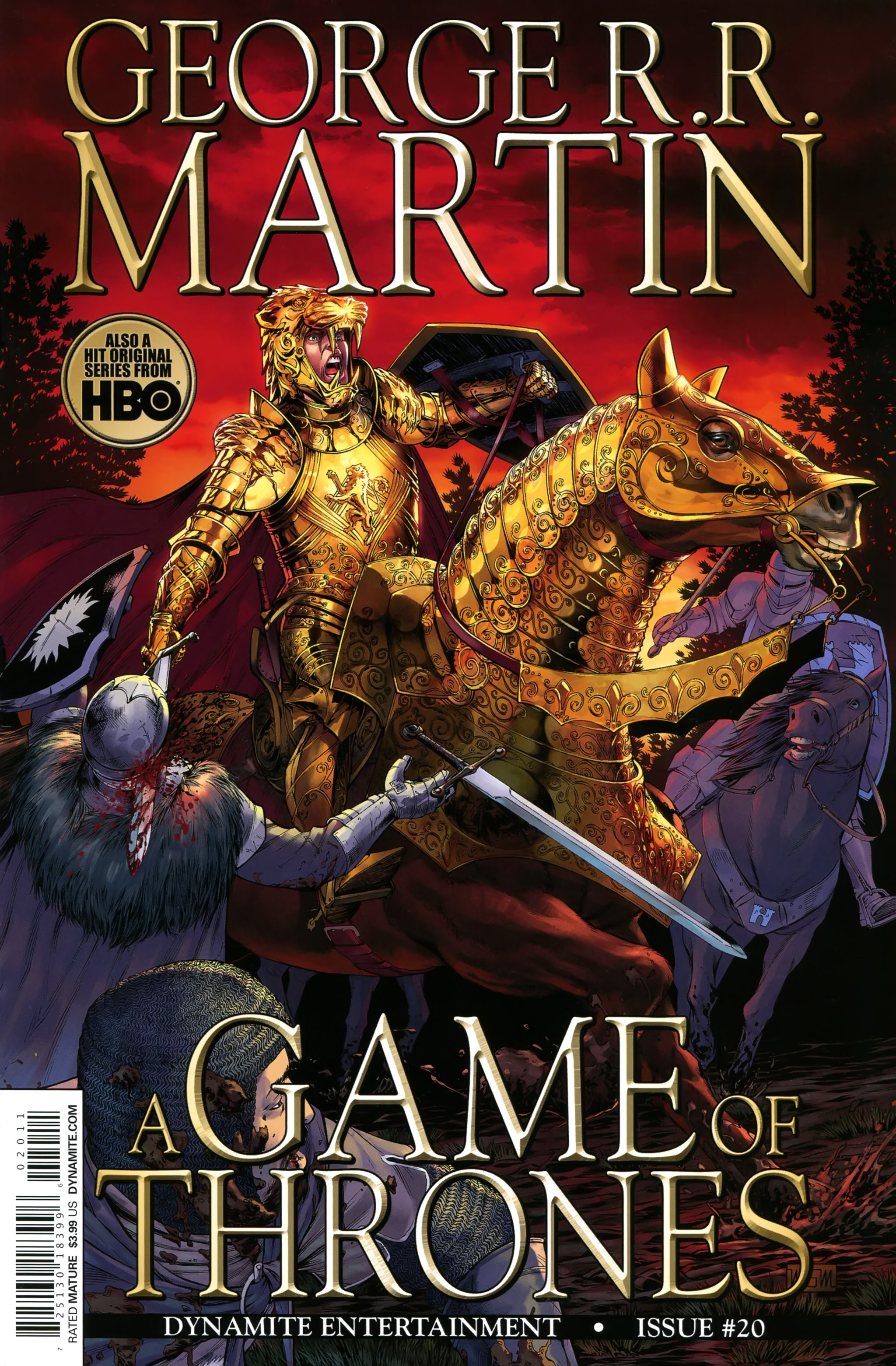 Read online A Game Of Thrones comic -  Issue #20 - 1