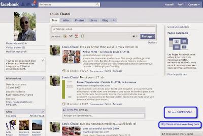 GL sur facebook