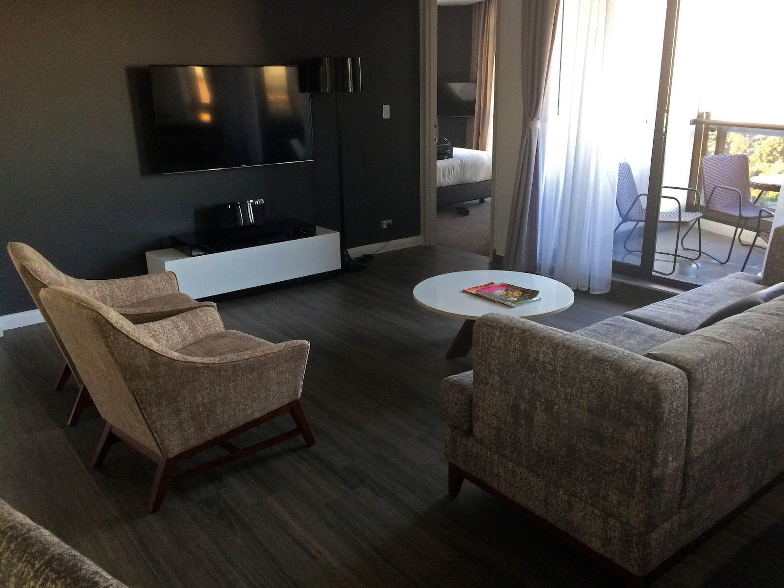 Meriton Church Street Parramatta Living Room