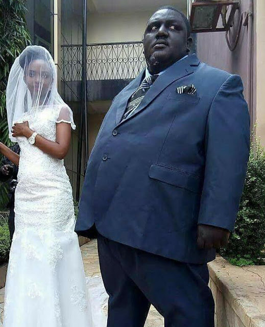 Couples Wedding Photos Go Viral Husband HUGE Lady TINY