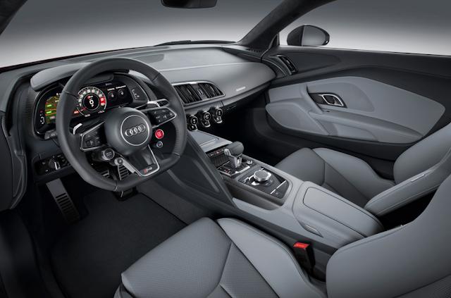 2018 Audi R8 V 10 Interior