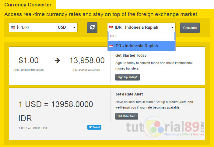 Western Union Converter Currency Exchange Rates