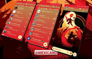 God Of War Theme For GBWhatsApp By Mexiacano