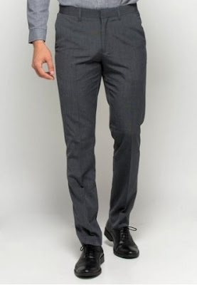 jenis kain untuk celana panjang pria