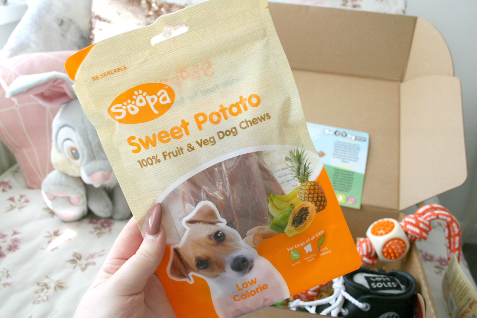 Soopa Sweet Potato Dog Treat Chews