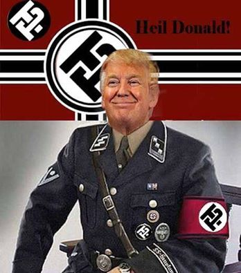 Seduced by the New...: Heil, Trump!
