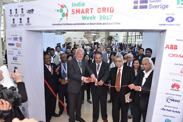 3rd Edition of International Conference and Exhibition 'India Smart Grid Week 2017' Concluded Successfully