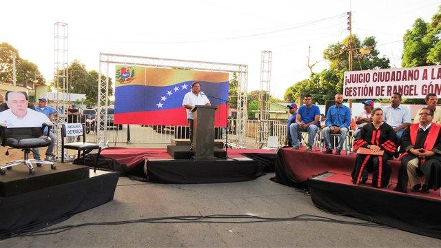 Rangel Gómez declarado culpable por la destrucción de Bolívar