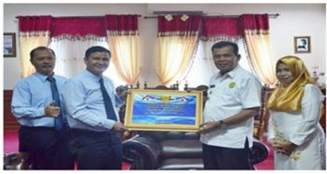 Kota Pariaman kembali meraih piagam  WTP