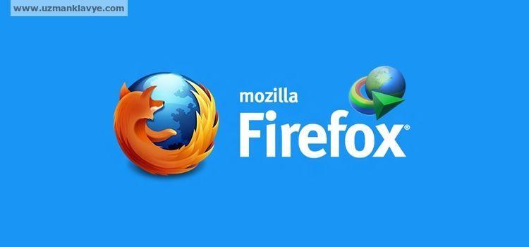 Mozilla Firefox 44 IDM Eklentisi