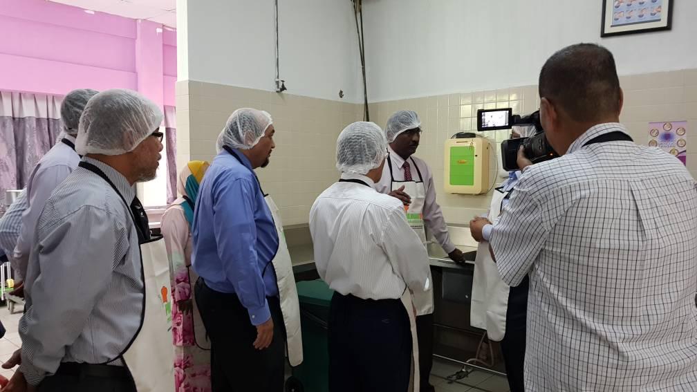 Borang Penilaian Bulanan Kebersihan Kantin Dapur Asrama 2017