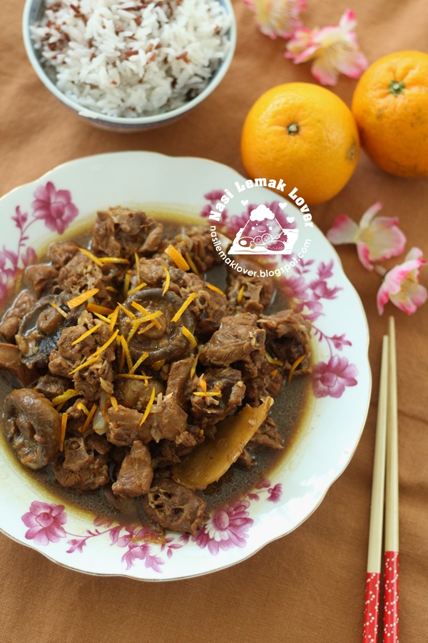 Chinese style Braised Orange Duck ?????