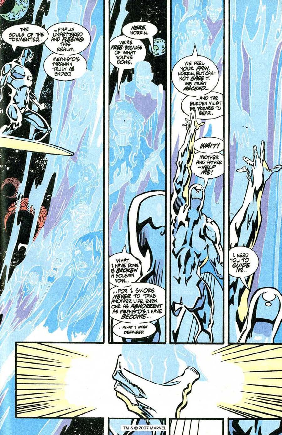 Read online Silver Surfer (1987) comic -  Issue #100 - 45