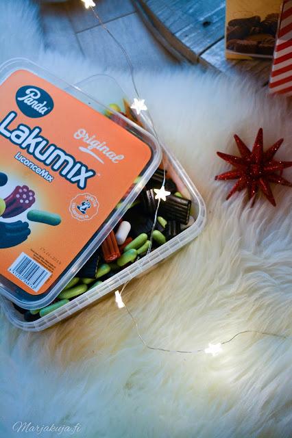 panda suklaa joulusuklaa joulupöydän konvehti lakumix