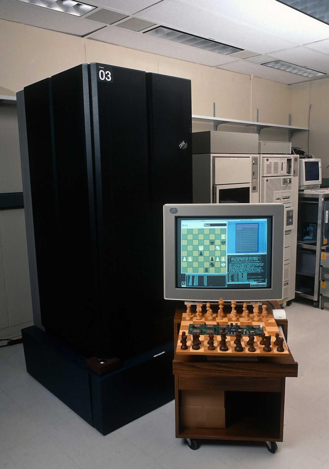 Deep Blue en la sede de IBM en Armonk, Nueva York.