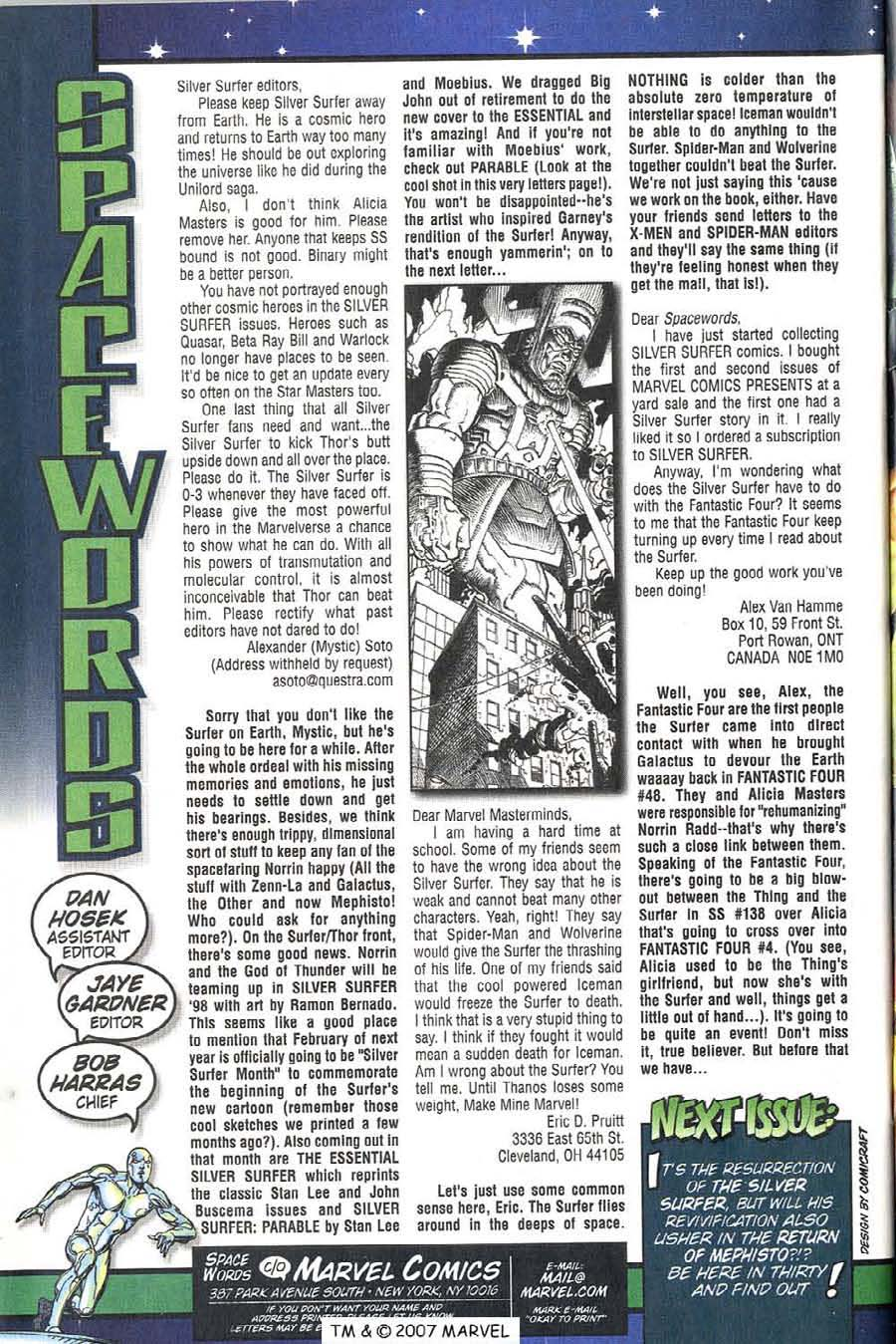 Read online Silver Surfer (1987) comic -  Issue #136 - 36