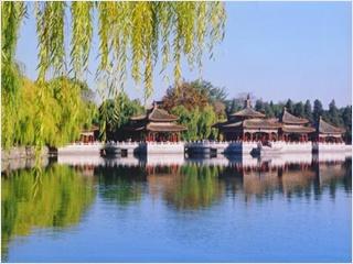 ศาลาห้ามังกร - อุทยานเป่ยไห่ (Beihai Park)