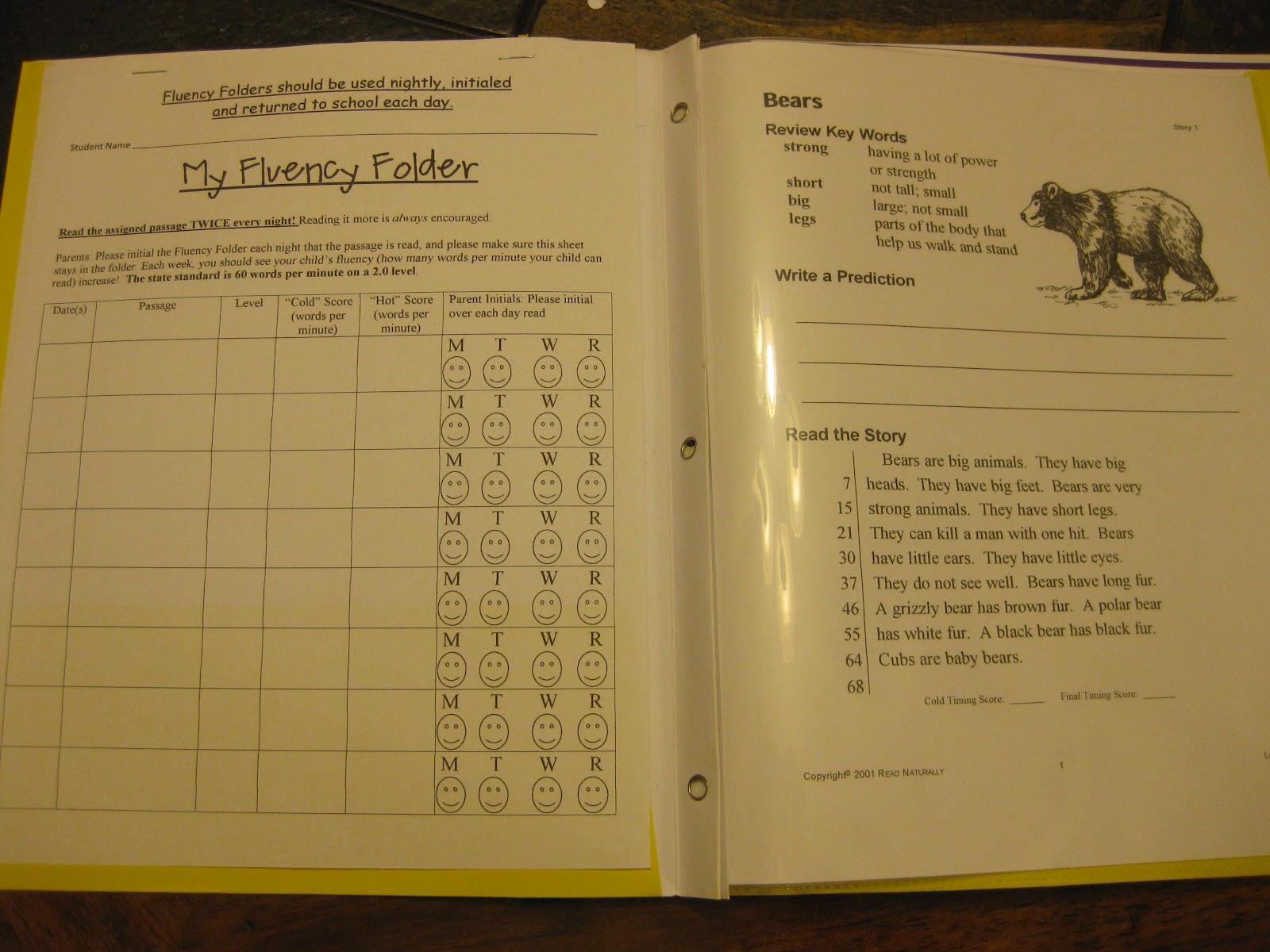 First Grade Fairytales Folders Folders Folders