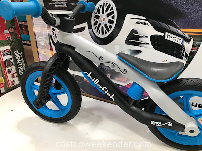 Get your kid biking in no time with the Chillafish BMXIE-RS Balance Bike