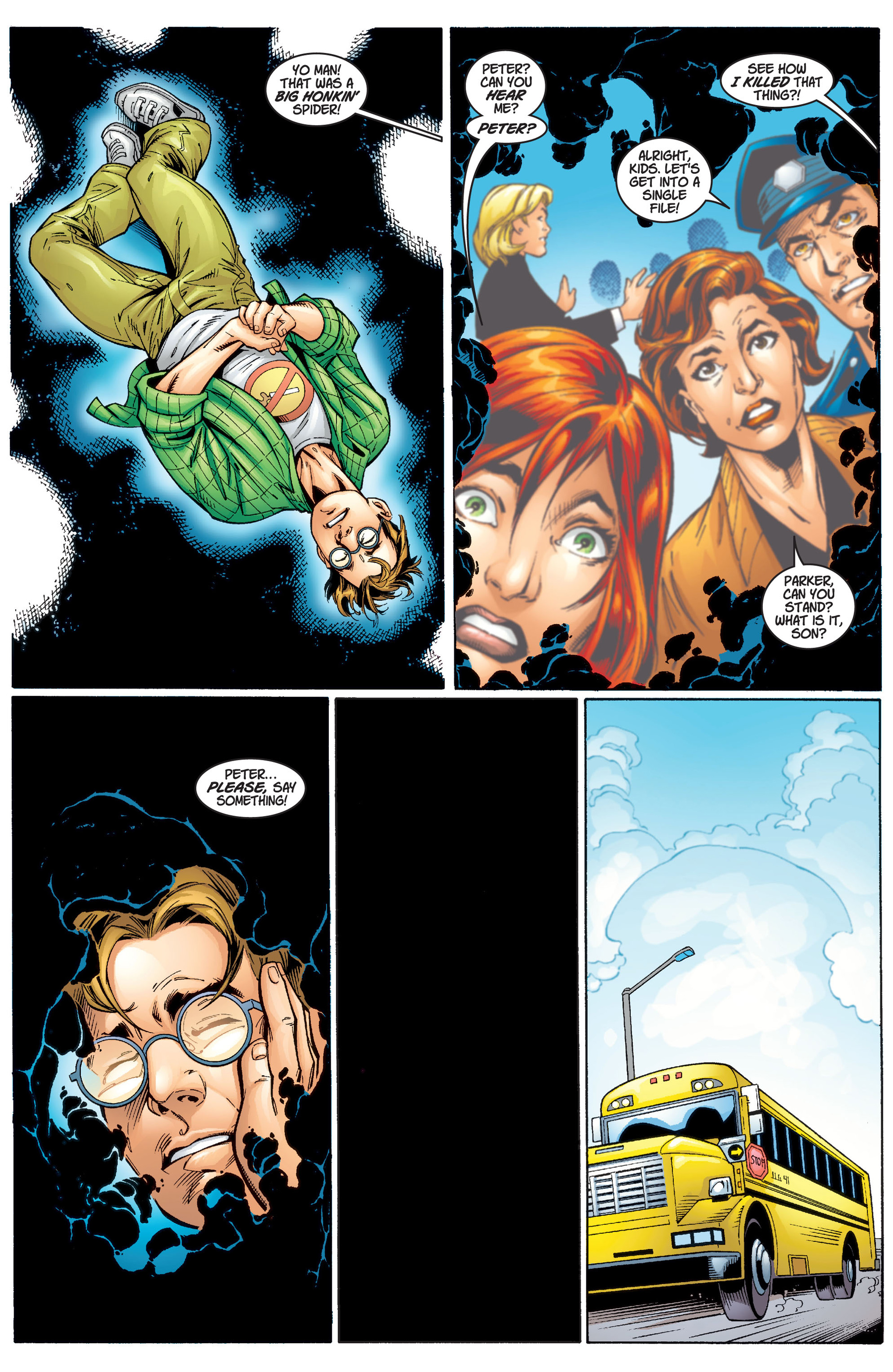 Read online Ultimate Spider-Man (2000) comic -  Issue #1 - 23