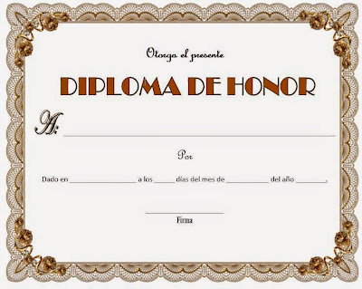 formato de diplomas para llenar - Towerdlugopisyreklamowe