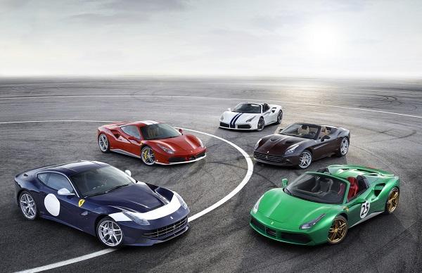 Ferrari 70 años