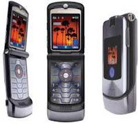 Motorola RAZR V3i hp berlualitas 1 juta
