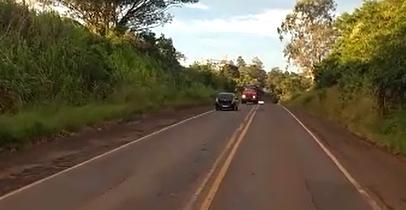 Ivaiporã: Motorista teria passado mal e quase se envolve em tragédia