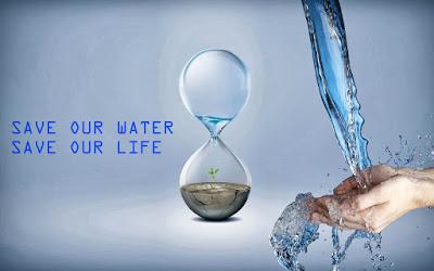 Poster Gunakan Air Seperlunya