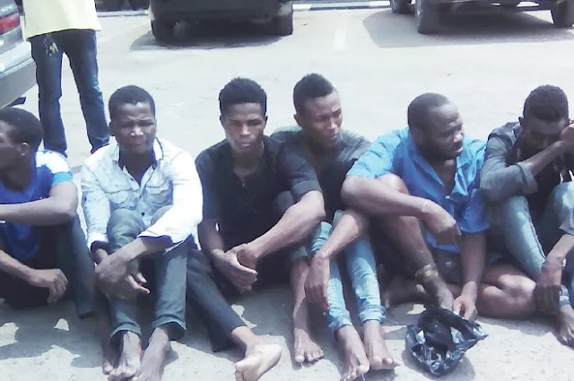 """Niger Republic Citizens Arrested For Robbery Confess """"Our Parents Believe There Is Money In Nigeria"""""""