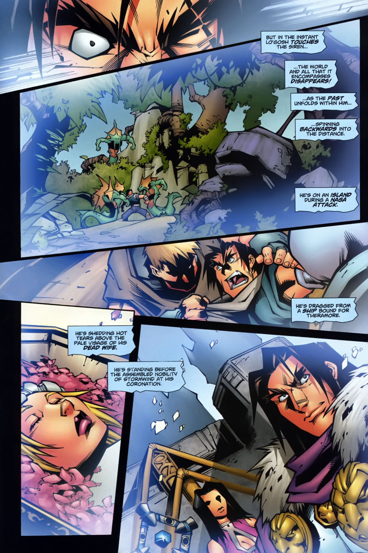 Read online World of Warcraft comic -  Issue #7 - 20