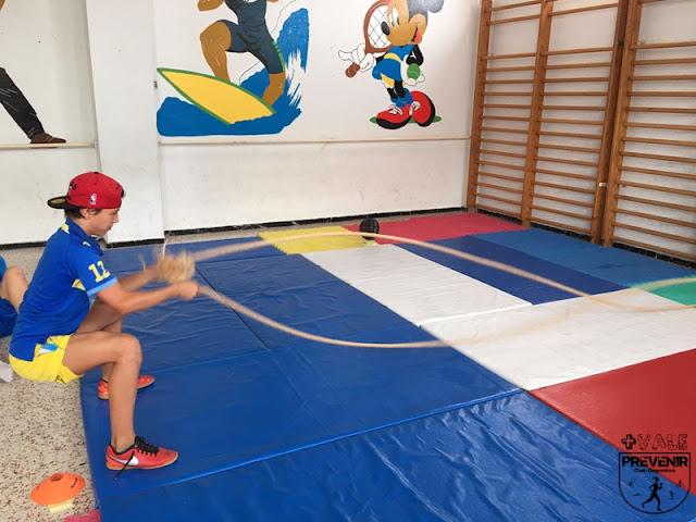 actividad física niños arucas