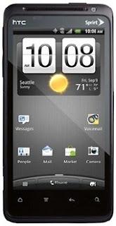 Cara Reset HTC EVO Design 4G Lupa pola & Password
